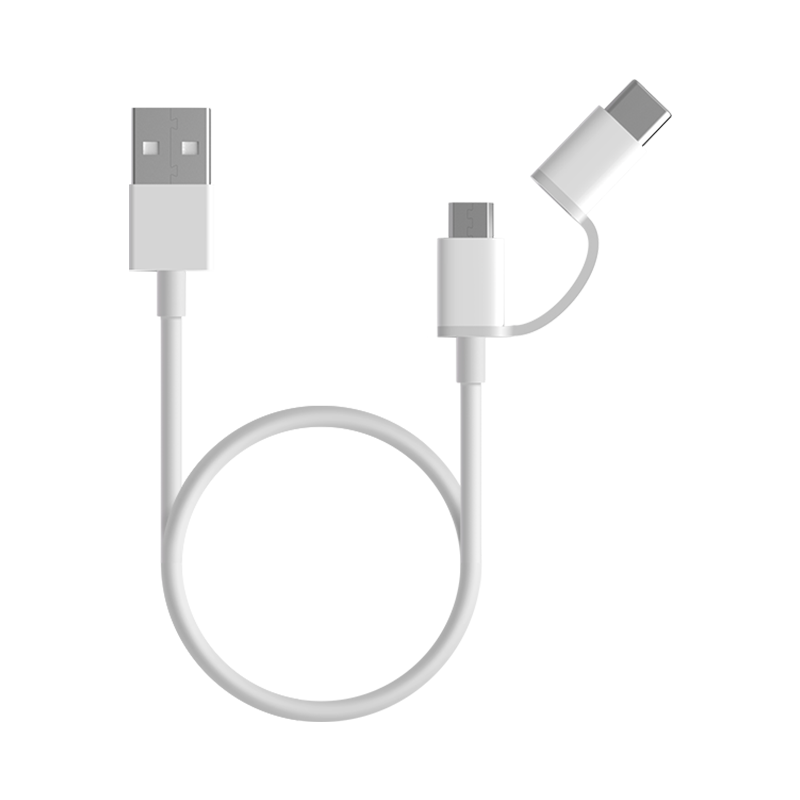 Mi 2-in-1 USB Cable (Micro USB to Type C)