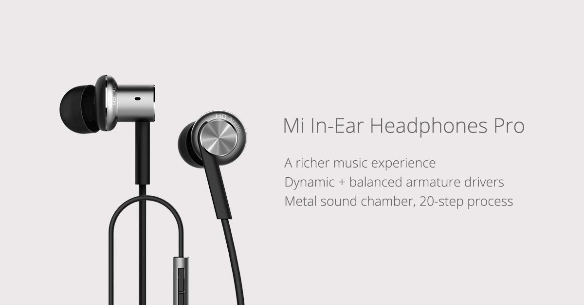 Mi In Ear Headphones Pro Mi Malaysia